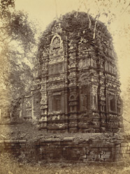 Back view of the Lakshmana Temple, Sirpur, Raipur District
